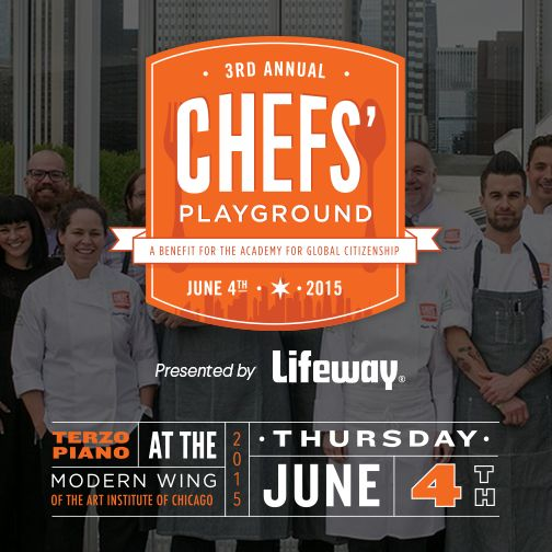 We're sponsoring the Academy for Global Citizenship's third annual Chef's Playground