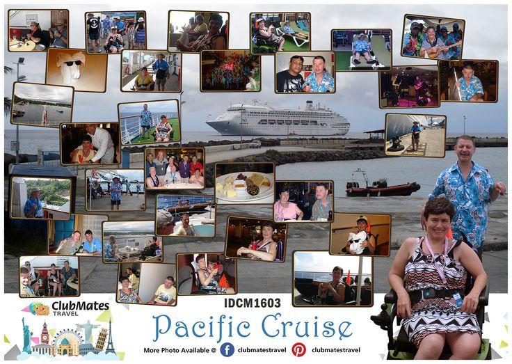 IDCM1603 Pacific Cruise - Album Page Design