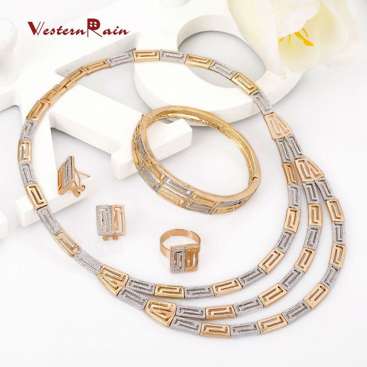 Find More Jewelry Sets Information about WesternRain Gold Plated Earrings Fashion Jewelry Sets Beauty Necklace Set Costume African Wedding Jewelry Set Free Shipping A108,High Quality jewelry microscope,China jewelry gift boxes free shipping Suppliers, Cheap jewelry making supplies beads from Shop717437 Store on Aliexpress.com