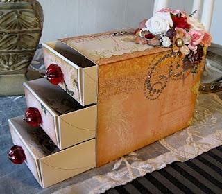 From chocolate box to storage idea!