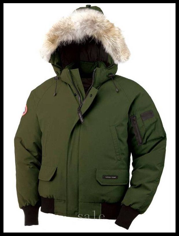 Military Green Canada Goose Chilliwack Bomber Parka