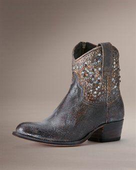 I love these short Frye Boots....Deborah Studded Short