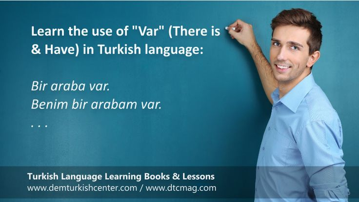 """Free Turkish lessons: Var and Yok in Turkish language. VAR The word """"var is """"There is / are"""" in Turkish. For example: Bir problem var. There is a problem. VAR MI? When you add """"mı?"""" question word to """"var"""", it…"""