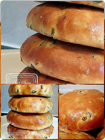 pain aux olives yaourt fromage4