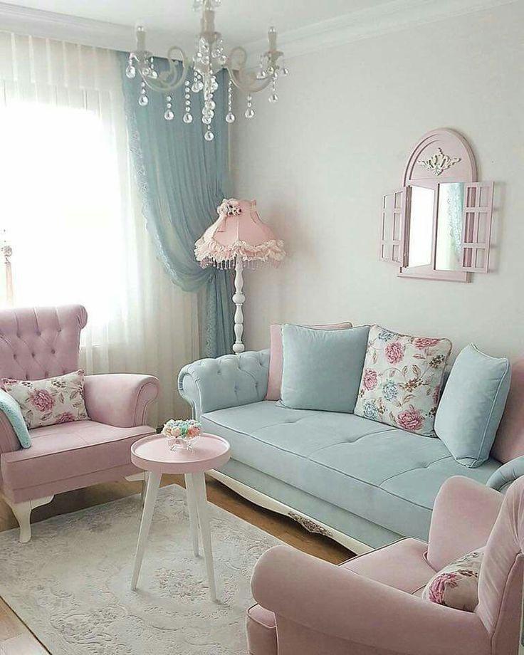 138 besten pastel interiors Bilder auf Pinterest   Bemalte möbel ...