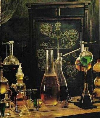 Victorian laboratory items (Olivous) | Alchemy | Occult | Esoteric | Sigil | Witchcraft | Chaos Magick | Quantum Theory | Magic | Spells | Potion | Wicca | Pagan | Science