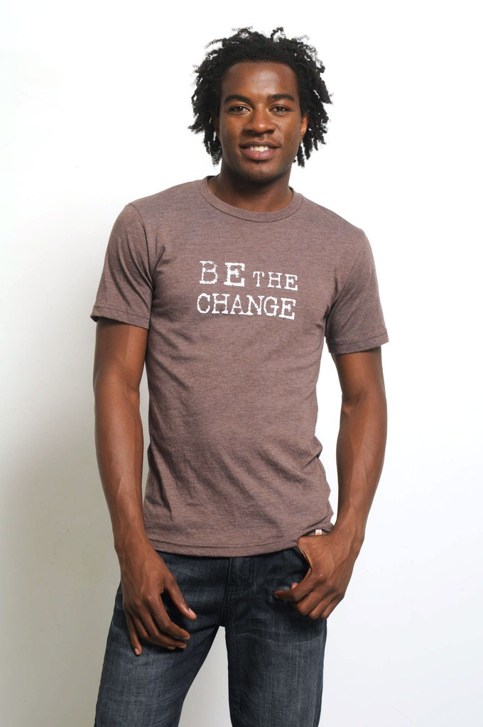 Be The Change - Mens - Brown  $34.50