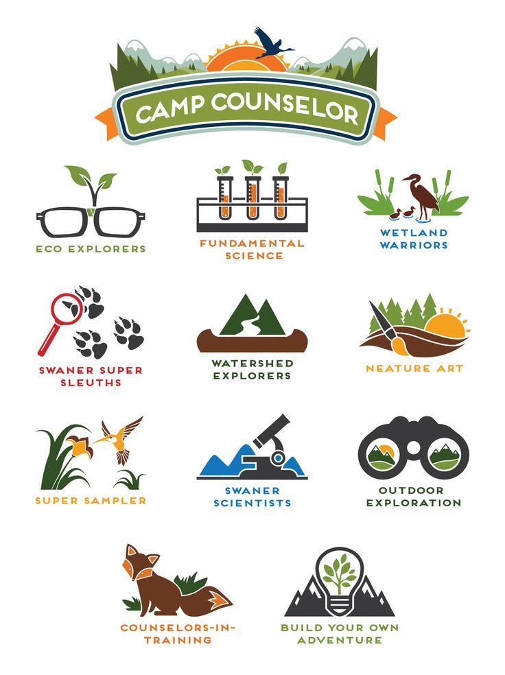 Swaner EcoCenter Summer Camp Logos