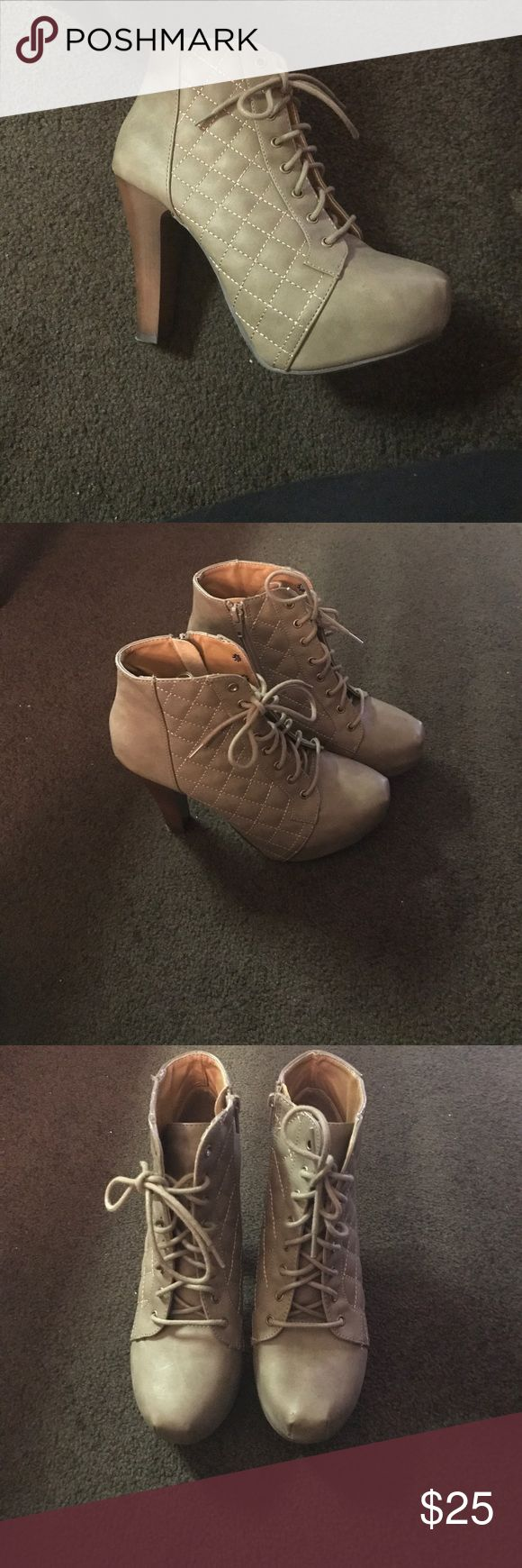 Charolette russe shoes Worn once Charlotte Ronson Shoes Ankle Boots & Booties