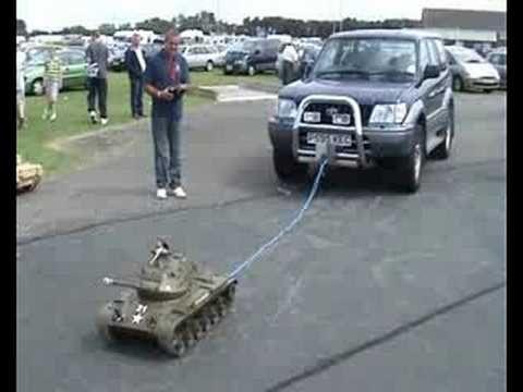 Model Tank Pulls Jeep