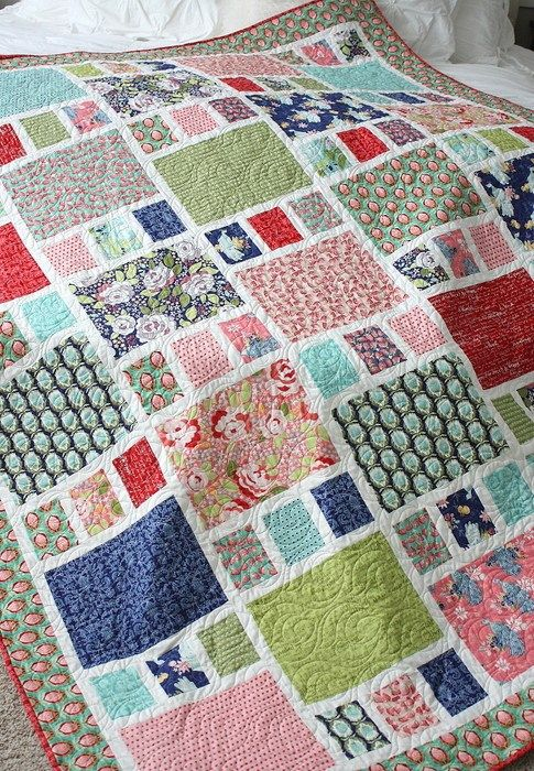 Craftsman quilt remake + new hard copy patterns!