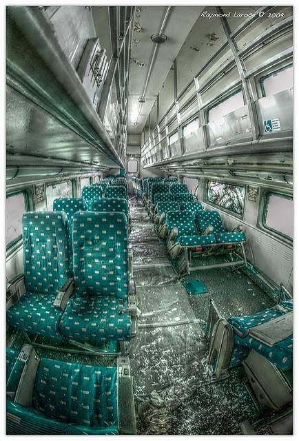 abandoned seating