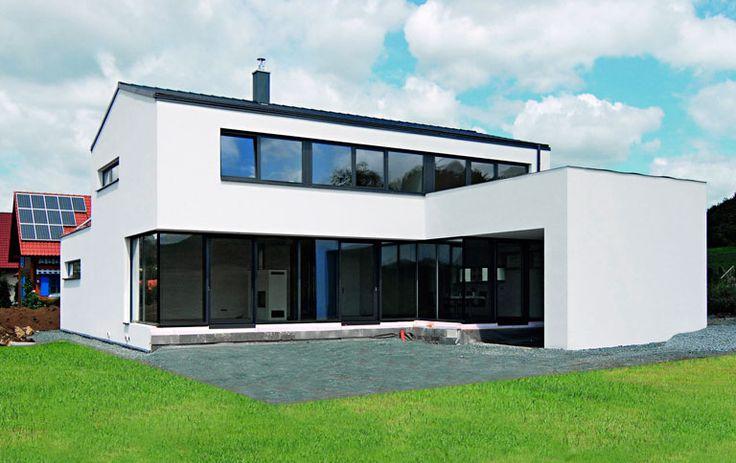 okohaus fertighaus kostenloser download satteldach haus pinterest modern. Black Bedroom Furniture Sets. Home Design Ideas