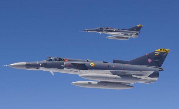 IAI Kfir Block 60 of the Colombian Air Force FAC