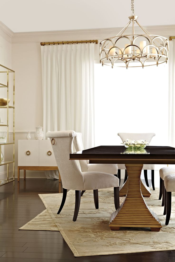 LOVE this dining table Room Setting 23