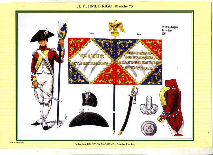 3° Demi-Brigade Portabandiera 1805