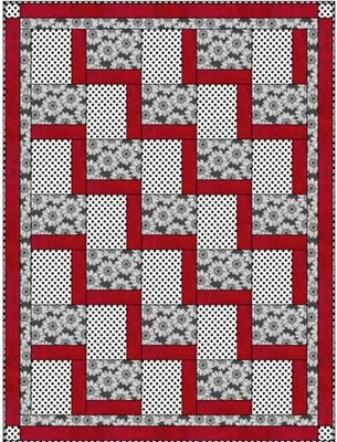 STEPPING UP Downloadable 3 Yd Quilt Pattern - Don't have this one yet.