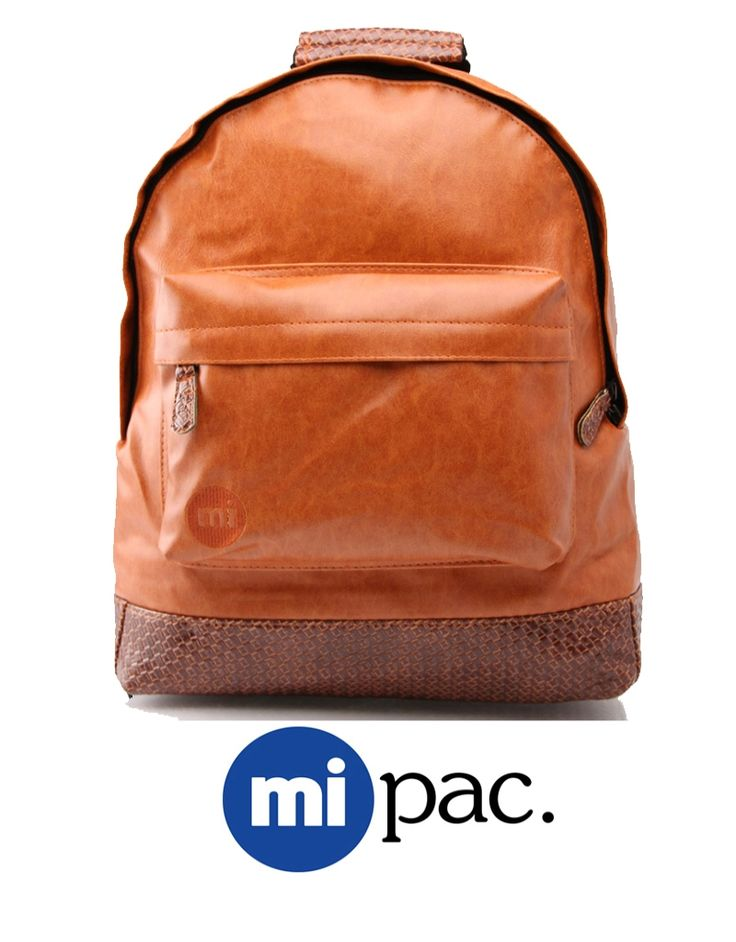 Mi Pac Tan Weave. Mi Mac at Greece online shop of #DistrictConceptStore Ioannina Greece. Easy to wear backpack for your everyday needs.