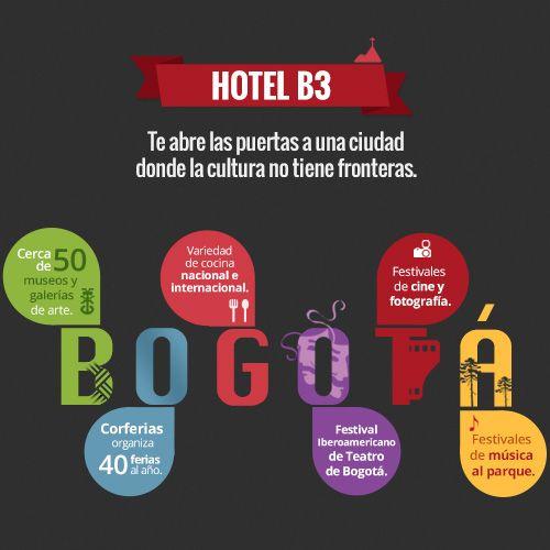 Descubre el escenario cultural que Bogotá te ofrece... http://ow.ly/wl3pL