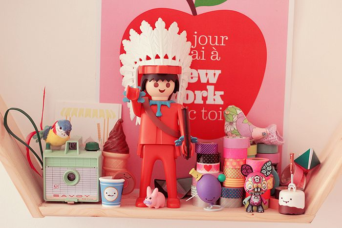 giant playmobil & art toys, savoy camera