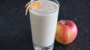 Jablečno-mrkvové Smoothie s ovesnými vločkami