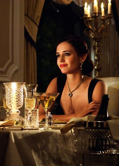 "Vesper Lynd, portrayed by Eva Green in ""Casino Royale"". Isn't she pulchritudinous?"