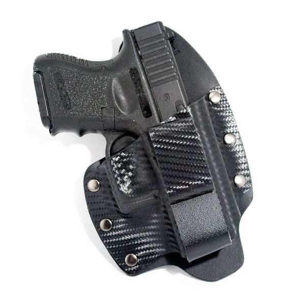Many Models Available!  IWB Holsters - Leather & Kydex® Hybrid One Clip | The Wanted Wardrobe Boutique