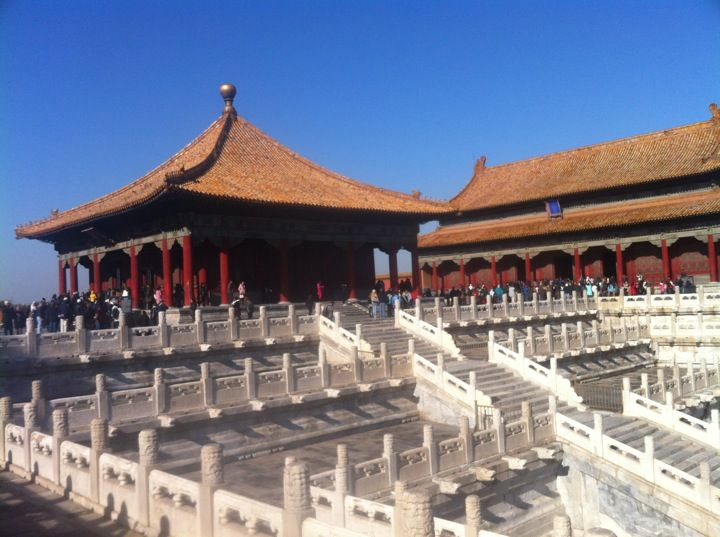 "故宫博物院 Forbidden City in 北京市, 北京市. We will visit the ""Forbidden City"" near Beijing. Let's find out why that is its name! Find out at: http://www.wisegeek.org/what-is-the-forbidden-city.htm#didyouknowout"