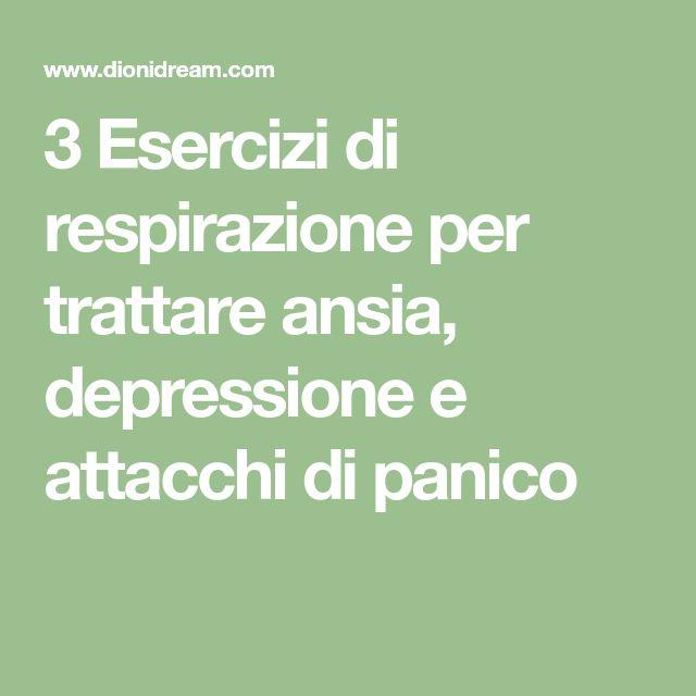 3 Esercizi di respirazione per trattare ansia, depressione e attacchi di panico