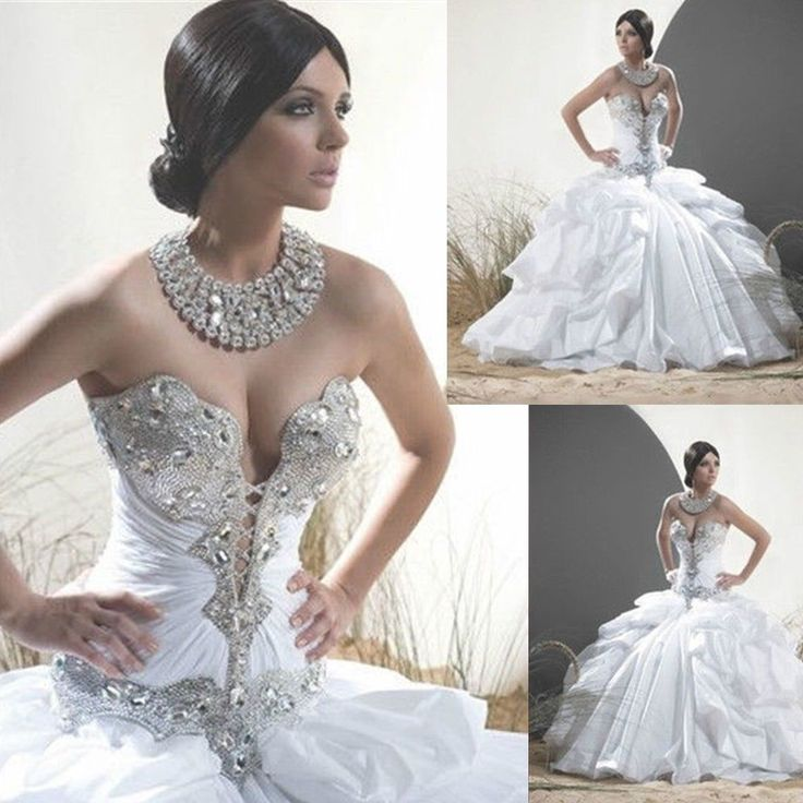 Best 25 bling wedding dresses ideas on pinterest for Bling corset mermaid wedding dresses