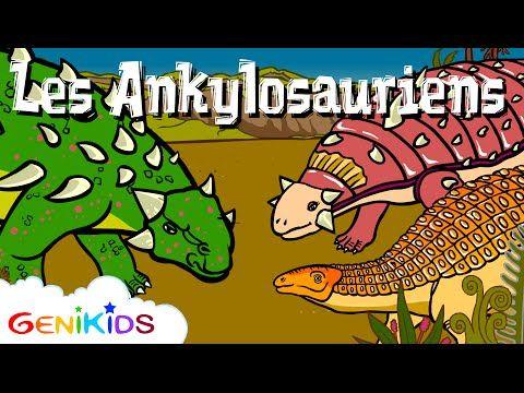 Le Brachiosaure - Le Dictionnaire sur les dinosaures - Dessin animé éducatif Genikids - YouTube