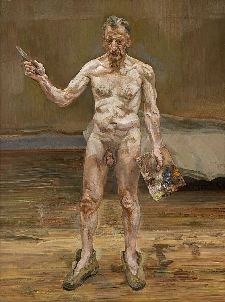 Lucian Freud - Painter Working, Reflection (1993)