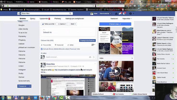 Jak získat fanoušky na Facebooku bez placenný reklam 1 díl