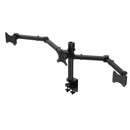 "Free Shipping. Buy FLEXIMOUNTS D1T Triple Monitor Arm Desk Mounts Stand Fits 10""-24"" Computer Monitor , 22 lbs per arm at Walmart.com"