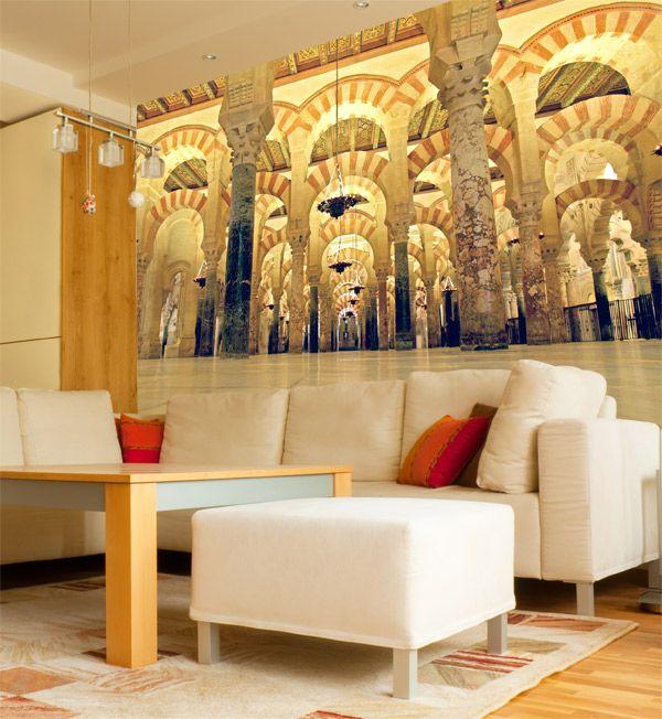 Fotomurales Mezquita de Cordoba. Ideas decoración academia de español #decoración #academia #español #ideas #vinilo #TeleAdhesivo