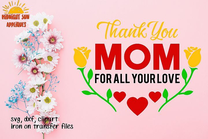 25+ Thank You Mother's Day Clipart