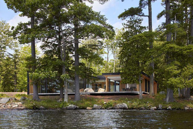 Lake Manitouwabing House Maximize Outdoor Living And Entertaining