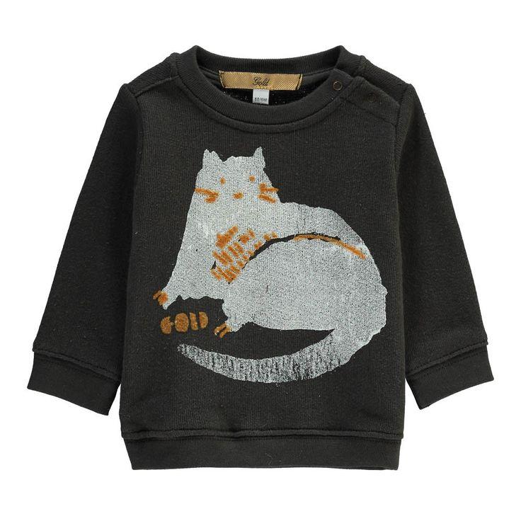 Gold Belgium Samu Cat Sweatshirt-product
