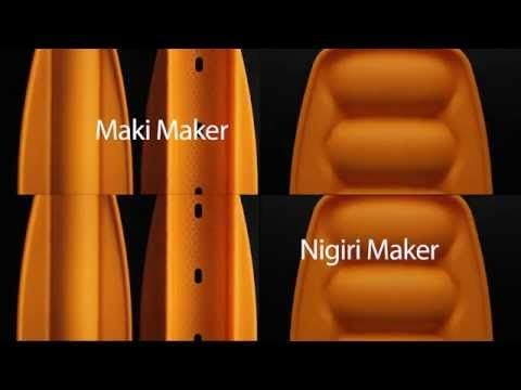 Tupperware Sushi Maker (Maki and Nigiri) - YouTube