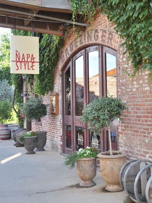 Yountville Napa style store owned by Michael Chiarello