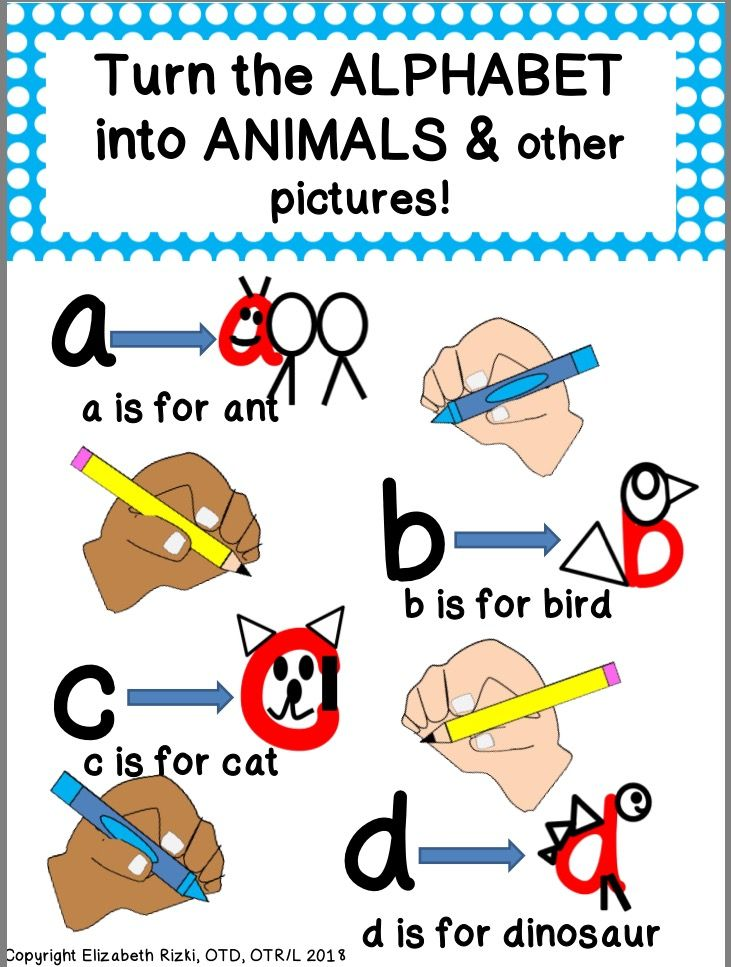 This Product Features All 26 Lowercase Letters Of The Alphabet Into Animals Or Object Starting With The Same Letter Lettering Alphabet Drawing Animal Letters