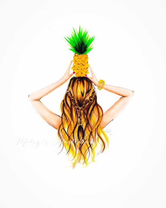 The Pineapple By Melsys On Etsy Girly Pinterest