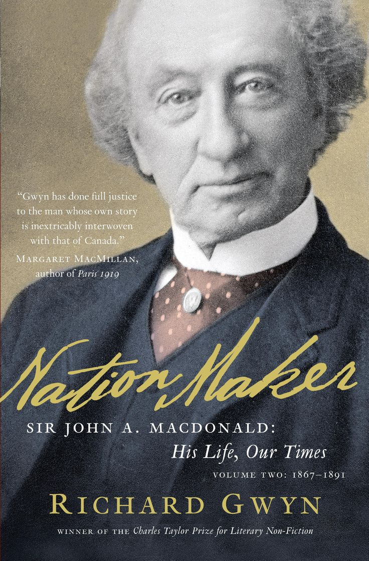 Gwyn took home the 2011 Shaughnessy Cohen Prize for Political Writing for his book, Nation Maker: Sir John A. Macdonald: His Life, Our Times; Volume Two: 1867-1891