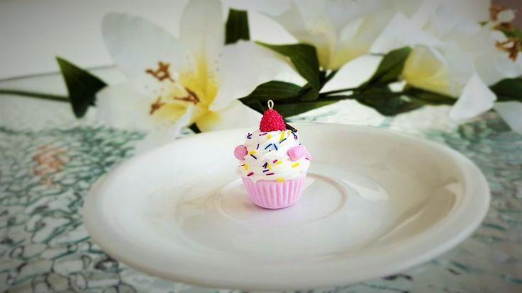 #Clay #handmade #cupcake