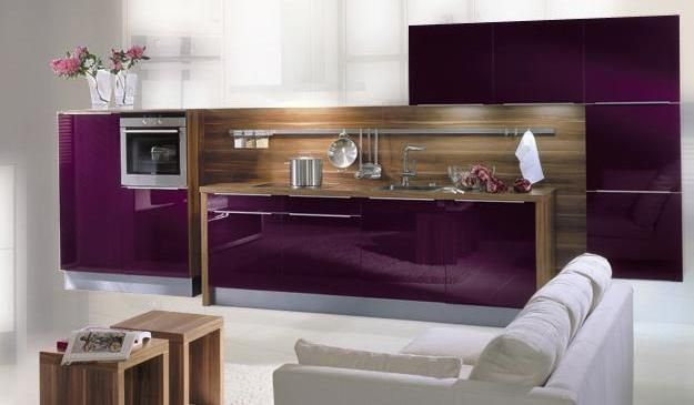 purple acrylic cabinets in acrylux topx acrylic kitchens acrylic rh pinterest com