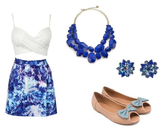 summer by anita-gyulai on Polyvore featuring ZALORA, Kate Spade and Alice Joseph Vintage