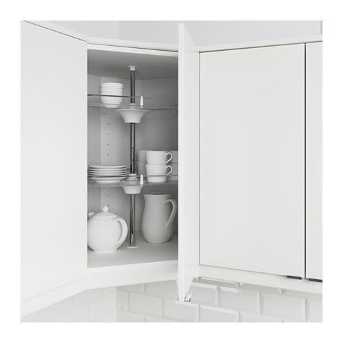 IKEA UTRUSTA wall corner cabinet carousel