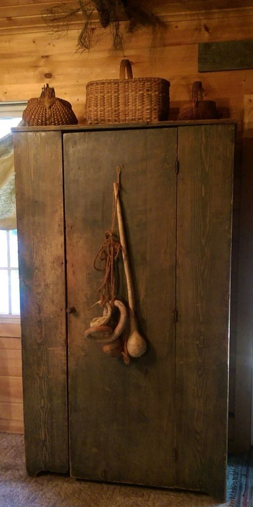 Beautiful Primitive Cupboard