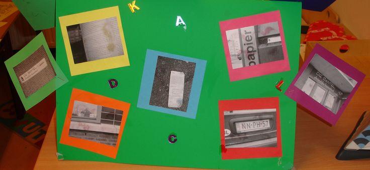 Foto's maken van letters