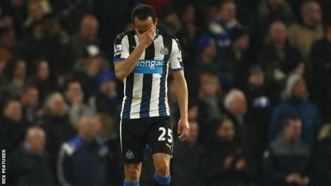 Newcastle United: Andros Townsend says fear is not to blame for losses